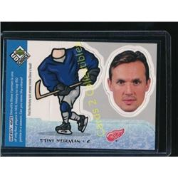 98-99 UD Choice Mini Bobbing Head Steve Yzerman
