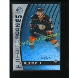 17-18 SP Game Used Rainbow #137 Kalle Kossila RC