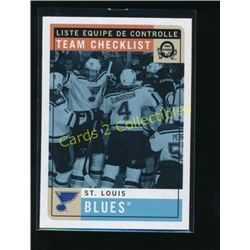 2017-18 O-Pee-Chee Retro #585 St. Louis Blues