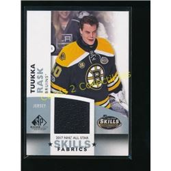 17-18 SP Game Used All Star Jersey Tuukka Rask