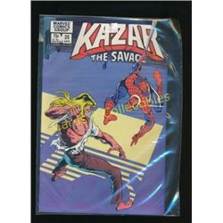 Marvel Kazar The Savage #25