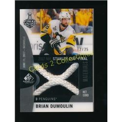 17-18 SP Game Used SCF Net Cord Brian Dumoulin