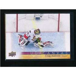 17-18 Upper Deck Canvas #C61 Craig Anderson