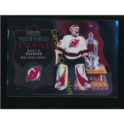 15-16 OPC Platinum Trophied Talent Martin Brodeur