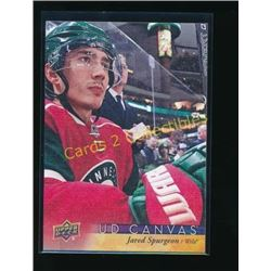 2017-18 Upper Deck Canvas #C43 Jared Spurgeon