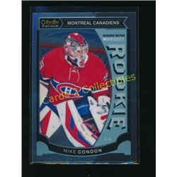 15-16 O-Pee-Chee Platinum Marquee RC Mike Condon