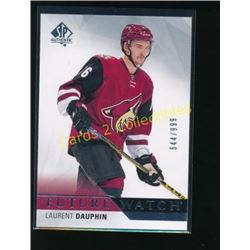2015-16 SP Authentic #205 Laurent Dauphin RC