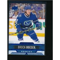 17-18 Upper Deck Overtime Blue #60 Brock Boeser