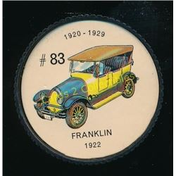 1960's Jello Coins Franklin 1922