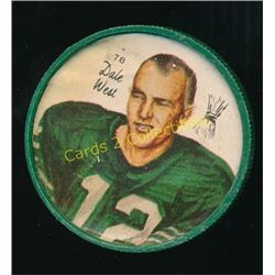1964 Nalley's Coins #78 Dale West