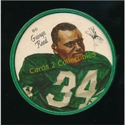 1964 Nalley's Coins #80 George Reed
