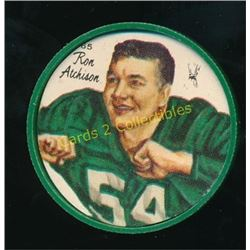 1964 Nalley's Coins #65 Ron Atchison