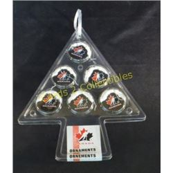 New Team Canada Christmas Tree Puck Design