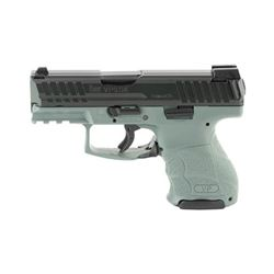 "HK VP9SK 9MM 3.39"" 10RD GRY NS 3MAGS"