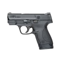 "S& W SHIELD 40SW 3.1"" BLK 6& 7RD"