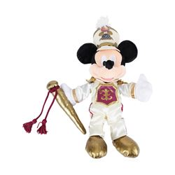 Mickey Mouse 12  Plush - 50 Years Disneyland  Happiest Homecoming On Earth