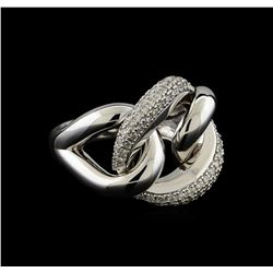 0.48 ctw Diamond Ring - 14KT White Gold