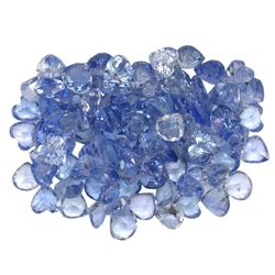 11.6 ctw Round Mixed Tanzanite Parcel