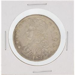 1834 Capped Bust Half Dollar Silver Coin