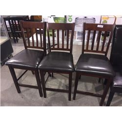 lot of 3 Bar Stools sold each x 3