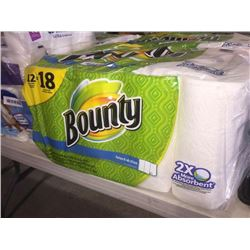 12 Pack of Bounty Paper Towels