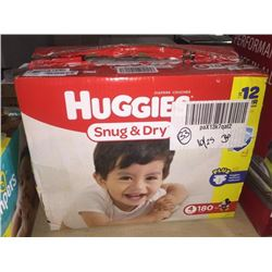 Huggies 180 Count size 4 diapers