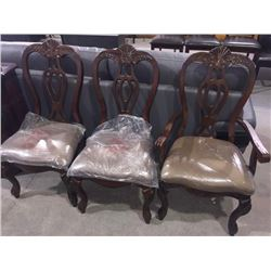 Lot of 3 dinning chairs sold each x 3