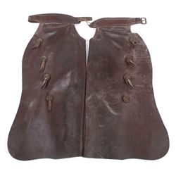 Victor Ario Saddlery Co. Great Fall, Mont. Chaps