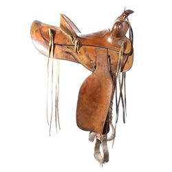 Jack Connolly & Bros Transitional Saddle c.1928-29