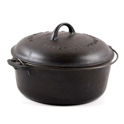 Griswold No. 8 Cast Iron Tite-Top Dutch Oven