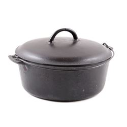 "Early ""Slant Erie"" Griswold No. 9 Dutch Oven"