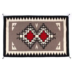 Navajo Native American Klagetoh Pattern Wool Rug