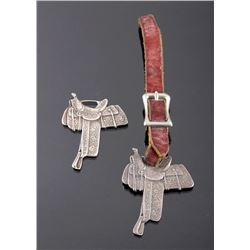 Miles City Saddlery Coggshall Saddle Watch Fobs