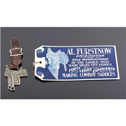 Al Furstnow Saddle Watch Fob and Shipping Tag