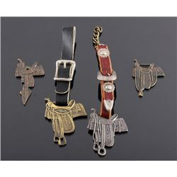 Western Saddle Maker Watch Fob Collection