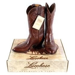 NIB Genuine Leather Lucchese Classics Cowboy Boots