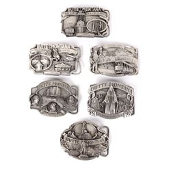 Butte MT Buckle Collection
