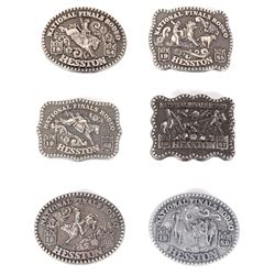 NFR Hesston Limited Edition Women's Buckles (6)