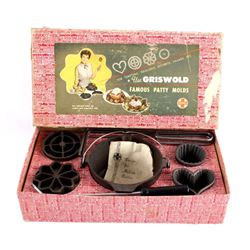 Griswold Cast Iron Patty Molds