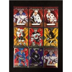 UPPER DECK ARTIFACTS STAR HOCKEY CARDS LOT