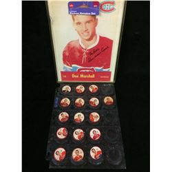 1961-62 - JELLO - SALADA FOODS - SHIRRIFF - HOCKEY COINS LOT