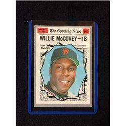1970 Topps Set Break #450 Willie McCovey Sporting News