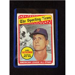 1969 Topps #425 Carl Yastrzemski All Star The Sporting News