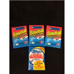1980'S BASEBALL WAX PACKS LOT