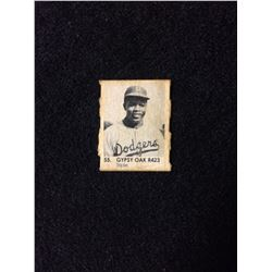 1950 R423 Gypsy Oak Gumball Art Series Card #55 JACKIE ROBINSON