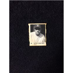 1950 R423 Gypsy Oak Gumball Art Series Card #42 BABE RUTH