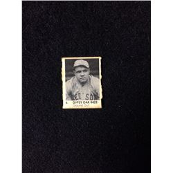 1950 R423 Gypsy Oak Gumball Art Series Card #6 BABE RUTH