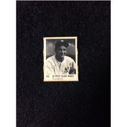 1950 R423 Gypsy Oak Gumball Art Series Card #43 ROGER MARIS