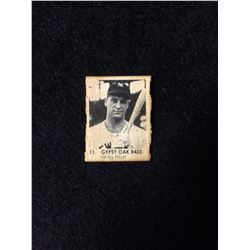 1950 R423 Gypsy Oak Gumball Art Series Card #11 ROGER MARIS