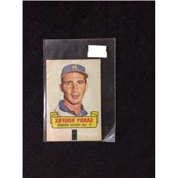 1966 TOPPS RUB-OFF CARD TATTOO TRANSFER STYLE SANDY KOUFAX